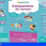 Santiago del Teide Abre la matrícula del Campamento de Verano