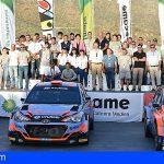 Concluye con éxito el Rallye de Adeje