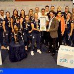 El Club Balonmano Salud Tenerife asciende a la Liga Guerreras Iberdrola