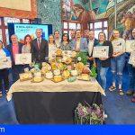 Un queso curado de cabra y oveja untado con gofio, elegido el mejor de Tenerife