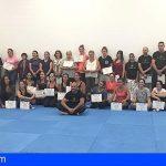 Granadilla   Gran éxito de acogida del taller de defensa personal para mujeres