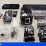 Detenido en Las Palmas al intentar esconderse con 588 gramos de hachís