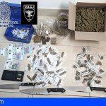Incautados en un local en Lanzarote más de medio kilo de hachís y marihuana
