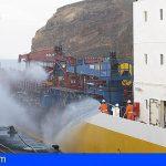 La Armada organiza un ejercicio de seguridad marítima en La Gomera