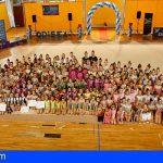 Tenerife | Más de 200 deportistas participaron en la final de Gimnasia Rítmica