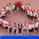 ICHH y Ayto. de Granadilla promocionan la donación con la I Caminata 'Ponte en Marcha' en El Médano