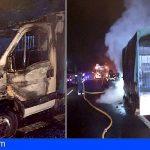 Se Incendia un vehículo entre Los Cristianos y Guaza