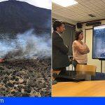 Activada la UME en un incendio que está afectando al Parque Nacional del Teide