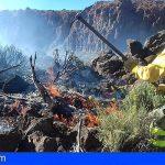 Se da por controlado el incendio forestal del Parque Nacional del Teide