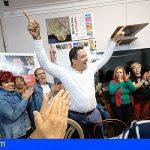 Mayorías absolutas del Sur, PSOE en Arona, Adeje, Guía, Vilaflor; CC San Miguel y PP Santiago del Teide
