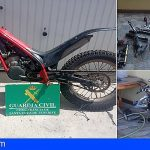 Tenerife   Recuperan cinco motocicletas sustraídas en La Matanza de Acentejo