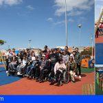 Adeje | El alumnado del Centro de Atención a la Diversidad visita el parque inclusivo de Las Torres