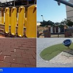 Vecinos de Granadilla critican el abandono de los parques infantiles municipales