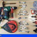 Detiene en Las Palmas a un hombre por dos robos con violencia y cuatro robos en vehículo
