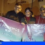 Sí Podemos Arona sitúa el empleo como base para la justicia social