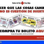 Canarias | Cruz Roja anima a la sociedad a colaborar con el Sorteo de Oro solidario
