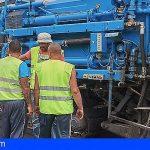 Inician la rehabilitación de la Carretera General del Sur TF-28 entre Santa Cruz y El Rosario