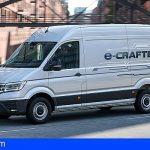 La nueva Volkswagen e-Crafter 100% eléctrica llega a canarias