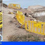 BUGA denuncia el estado de abandono de la playa de la Tejita y los accesos a la misma
