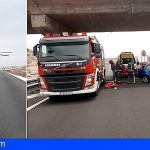 Dos mujeres heridas, una de ellas de gravedad, en un accidente en la TF-1 Poris de Abona