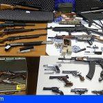 Incautan 66 armas de fuego y más de 17.000 cartuchos en Galicia