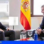 Casado se reunió con Clavijo para negociar un pacto por Canarias