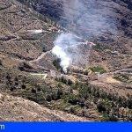 La Gomera | Controlado un conato de incendio declarado en Taguluche