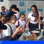 Escolares tiñerfeños conocen el uso sostenible del agua gracias a EMMASA
