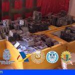 Medio millón de falsificaciones móviles chinas decomisadas en Península