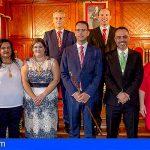 La Gomera | Firmada la designación de áreas del Gobierno en San Sebastián