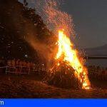 La Gomera se prepara para celebrar San Juan en Playa de La Cueva