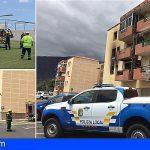 Tenerife | 5 personas asistidas en un incendio de un edificio en Güímar