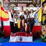 Granadilla | El Club de kickboxing de Mar Rodríguez obtuvo 5 medallas en Roma