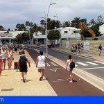 Grietas y ratas en el puesto de la Guardia Civil de Tias en Lanzarote