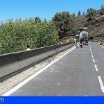 Una barrera de 1.130 metros protegerá la TF-82 entre Adeje y Santiago del Teide