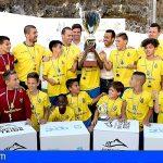 Santiago del Teide | La UD Las Palmas vencedora del Torneo Internacional Alevín de Fútbol 8