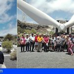 Los mayores de Ansina visitan el ITER en Granadilla
