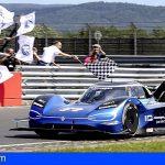 El Volkswagen ID.R bate un nuevo récord eléctrico en Nürburgring, 6:05,336 minutos
