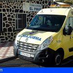 El Hierro | Amplían a 24 horas el horario de la ambulancia del SUC en El Pinar