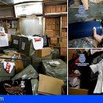 Las Palmas | 7 detenidos por 200.000 artículos falsificados valorados en 16.000.000€