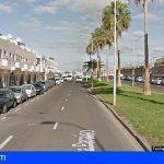 Grave al caer de un balcón a la vía pública en Playa Paraíso