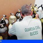 Un accidente subacuático en Arico destapa irregulariades en un centro de buceo de Las Américas
