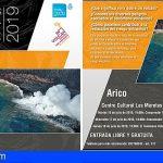Una ventana volcánica en el Atlántico llega a Arico