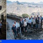 Inauguran el Centro de Interpretación de las Montañas Sagradas de Gran Canaria