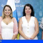 Canarias   Noemí Santana respalda a las responsables de Igualdad e Infancia