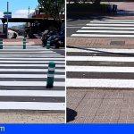 San Sebastián de La Gomera refuerza la señalización horizontal del municipio