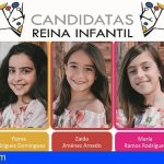 5 candidatas aspiran a convertirse en Reina Infantil de Santiago del Teide