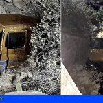 Los Bomberos intervienen en 3 accidentes de coches ; Arico, Granadilla y Adeje