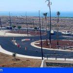 Adeje abre al tráfico la nueva rotonda de acceso a Armeñime