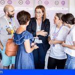 TLP Tenerife informa sobre violencia de género a través de dos puntos violeta